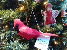 Bird ornament for your christmas tree!!!