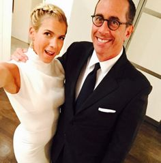 Jerry & Jessica Seinfeld--Jerry met Jessica at a gym while Jessica was engaged to theatrical producer Eric Nederlander. He must have made quite an impression because as soon as Jessica and her husband returned from their honeymoon, Jessica dumped him and ran off with Jerry. Eric filed for divorce four months after their wedding. Jerry and Jessica have been married 15 years.
