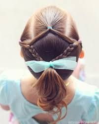 She wanted a ponytail…but of course I had to add a little spice to it . It's Spring Break for m… - Coiffure Sites Girls Hairdos, Baby Girl Hairstyles, Princess Hairstyles, Easy Hairstyles, Beautiful Hairstyles, Simple Girls Hairstyles, Hairstyle Ideas, Updo Hairstyle, Everyday Hairstyles