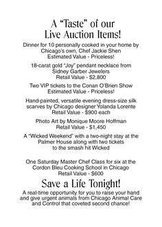 To create excitement and encourage bidding, publicize your big ticket silent auction items in advance.