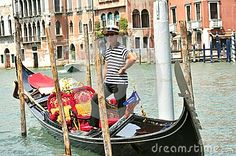 Gondolier  In Venice , Italy - Download From Over 29 Million High Quality Stock Photos, Images, Vectors. Sign up for FREE today. Image: 42063793