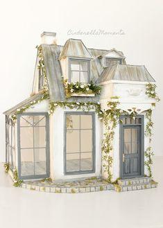 Cinderella Moments: Under Paris Roofs Custom Dollhouse