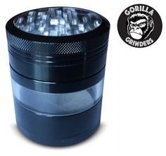 Gorilla Grinders Top Rated Premium 4 Piece Herb Grinder, Mega Crusher with pollen Catcher and Kief Scraper. Crafted from Aerospace Grade Aluminum (XL 3.2' Tall x 2.5' Round) *** This is an Amazon Affiliate link. Read more at the image link.