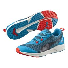 1d3428e92f04 Get in blue heaven-blue wing teal-orange pop-white) IGNITE XT  a version of  our super-responsive IGNITE running shoes specially engineered for cross-  ...