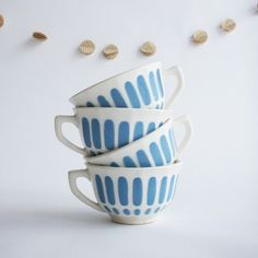 French vintage teacups