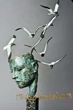 Philip Wakeham is a Self taught contemporary figurative sculptor working exclusively in Bronze. Figurative, Bronze, Contemporary, Movie Posters, Art, Art Background, Film Poster, Kunst, Performing Arts