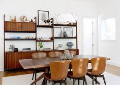 """We like to use vintage and antique storage pieces whenever possible,"" says Kristen Zeff, who works with her husband, Mark Zeff. ""For spaces that are unusu"