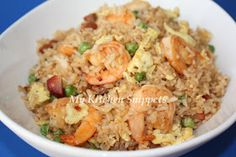 Shrimp fried rice is a great dish for nights when you're looking for a quick way to use up leftovers in your fridge. Feel free to experiment...