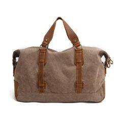34688283b4 Waxed Canvas Duffle Bag   Weekend Bag   Duffel Bag Men   Men Duffle Bag    Weekender Bag   Leather Duffle Bag   Mens Duffel Bag   Gym Bag(S31) from  Uni4 ...