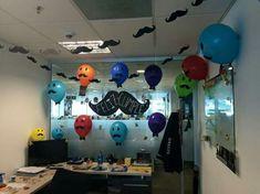 The 20 Best Ideas for Office Birthday Ideas Safari Birthday Party, First Birthday Parties, 50th Birthday, It's Your Birthday, First Birthdays, Happy Birthday, Cubicle Birthday Decorations, Office Decorations, Birthday Pranks
