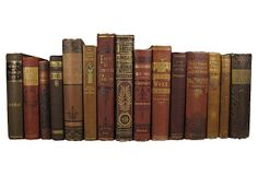 Decorative Victorian  Books, S/15 on OneKingsLane.com