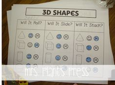 3D Shape Freebies