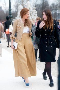 all a bit fabulous...especially that gold ensemble. so good. Paris. #WayneTippetts
