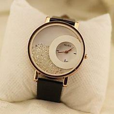 Women's Circular Rolling Beads Quartz Wrist Watch(Assorted Colors) | MiniInTheBox