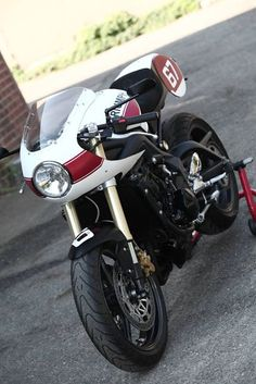 Triumph Cafe Racer with Fairing
