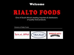 Rialto Foods - Importers & Distributors of Quality Food Products