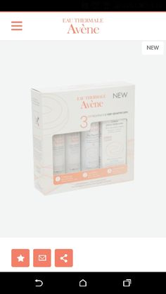 Avene sensitive skin care kit