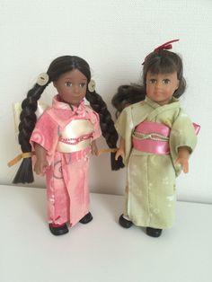 Kimono for mini dolls