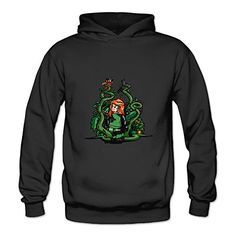 BOOMY Poison Ivy Girl Womens Hoodie Sweatshirt SizeXL * You can find out more details at the link of the image.
