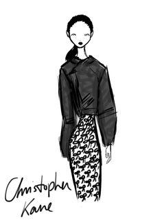 Christopher Kane London Womenswear S/S 2013 by Rei Nadal.