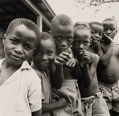Children, Sierra Leone by Lewis Morley, 1963