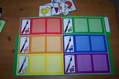 Trendy card games for kids preschool file folder ideas Preschool Colors, Preschool Classroom, Preschool Learning, Classroom Activities, In Kindergarten, Preschool Activities, Preschool Printables, Educational Activities, Toddler Fun