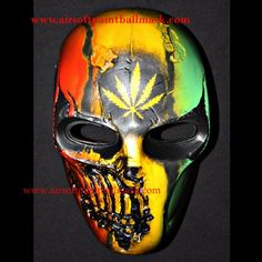 Army of two bb gun paintball airsoft mask R2 Bob Marley MA135