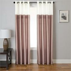 montok colorblock curtain panel is available in 3 colors the montok collection comes lined and