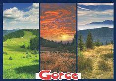 Pocztówkowe podróże po Polsce: GORCE
