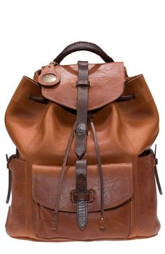 Will Leather Goods 'Rainier' Leather Backpack