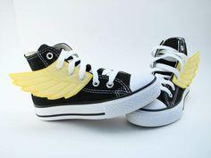 diy Hermes flying shoes.