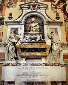 #assaggiditeatro Vita di Galileo www.assaggiditeatro.it Tomba di Galileo: Santa Croce, Firenze -- Florence Italy