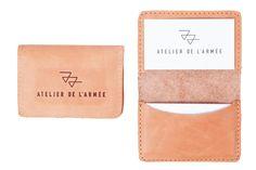 Cardholder - Leather Goods - Atelier de l'Armée