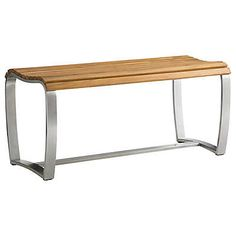 Tres Chic Dining Bench by Tommy Bahama Outdoor