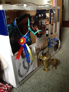 Back home with Harley and his new trophy