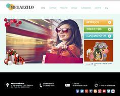 Já estamos em ritmo de Natal e o nosso site esta com um novo visual.   Acesse www.metalzilo.com.br 1, Industrial, New Looks, Glasses Frames, Breakfast Nook, Xmas, World, Industrial Music