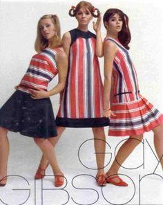 1967 March Seventeen Gay Gibson Cay Sanderson, Joan Paulson, Colleen Corby m