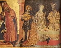 c. 1360, Retable of St. Joans, Museum of Catalan Art, Barcelona