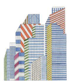 In the City, illustrator Nigel Peake.