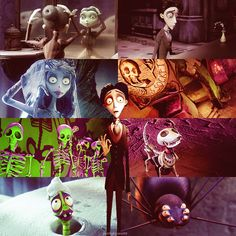 "sunlight-world: ""[04/10] Favorite Animated Movies - Corpse Bride (2005) """