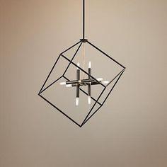 "Kichler Cartone 25 1/2"" Wide Olde Bronze Pendant Light - $306 - http://www.lampsplus.com/products/kichler-cartone-25-and-one-half-inch-wide-olde-bronze-pendant-light__6p582.html"