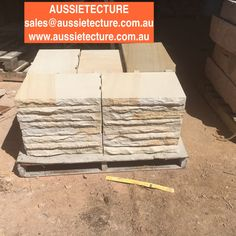 Aussietecture natural stone supplier has a unique range natural stone products for walling, flooring & landscaping. Sandstone Cladding, Natural Stone Cladding, Sandstone Wall, Natural Stone Wall, Natural Stones, Landscape Design, Garden Design, Stone Supplier, Wall Cladding