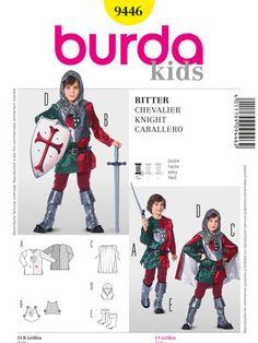 Schnittmuster: Historisches Kostüm, Ritter - Historische Kostüme - Kinderkostüme - Fasching - burda style