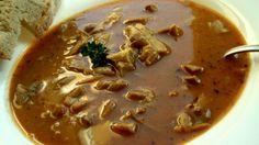 Polévka z vepřových žaludků na způsob dršťkové