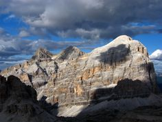 Le Tofane, Dolomites, province of Belluno, Veneto, Northern Italy
