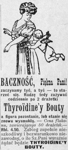 Atqa Beauty Blog :: Baczność, piękna pani. Reklama prasowa, 1914.