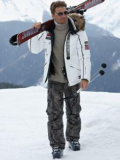 Bogner Flint Camo Warm-up Ski Pants