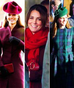 Catherine, Duchess of Cambridge | Celebrating Christmas 2011, 2012, 2013