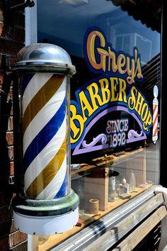 Barber Pole - Hayward, Wisconsin