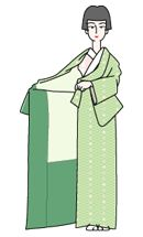 Japanese site! Gives step-by-step instructions on dressing in kimono/yukata, tying a variety of different obi musubi and some other useful basics (men's yukata/kimono, basic coordination of obi with yukata/kimono, dressing children for shichigosan).